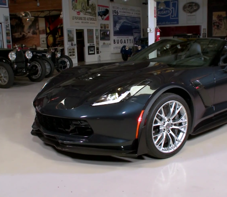 2015 Corvette Z06 jay leno Front Left View
