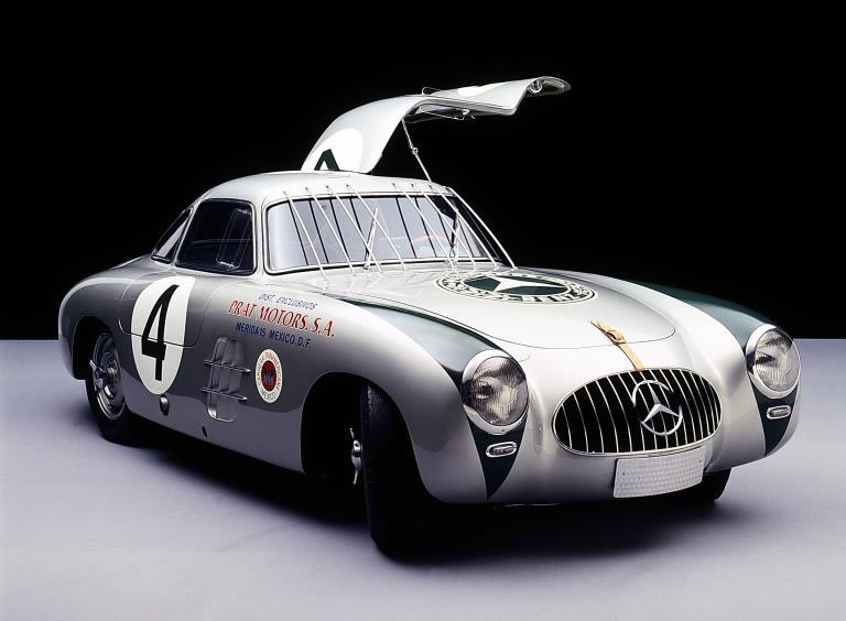Mercedes-Benz-300SL cabriolet 1952 Mexico Race