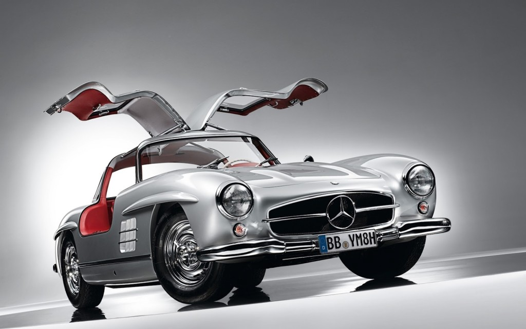 Mercedes-Benz-300SL gull wing