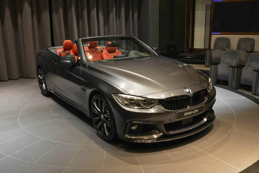 2015 BMW 4-Series M Performance Convertible Front Side