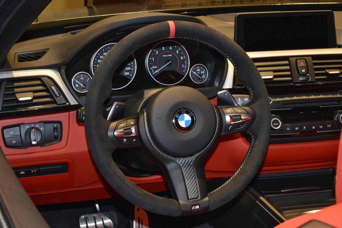2015 Bmw 4 Series M Performance Convertible Steering Wheel Damnedwerk