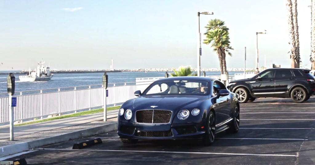 DRIVE Bentley Continental V8 Near Shore