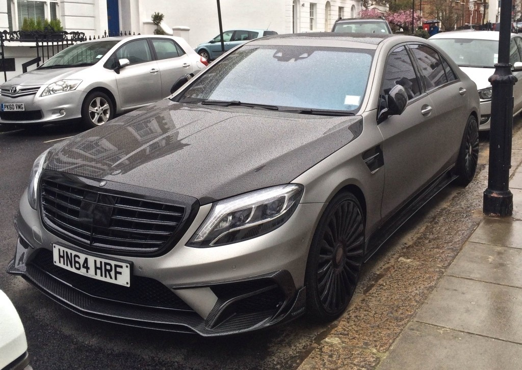 2015 S63 AMG Mansory Spotted In London Front