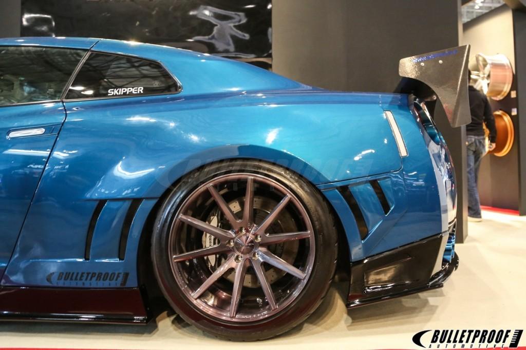 2015 Skipper GTR R35 Vossen Rear Wheels