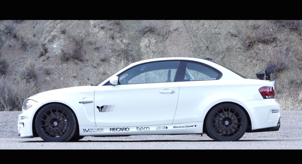 BMW 135i V8 Side