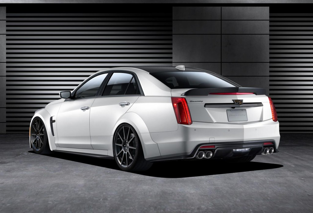 Cadillac CTS-V Hennessey Rear