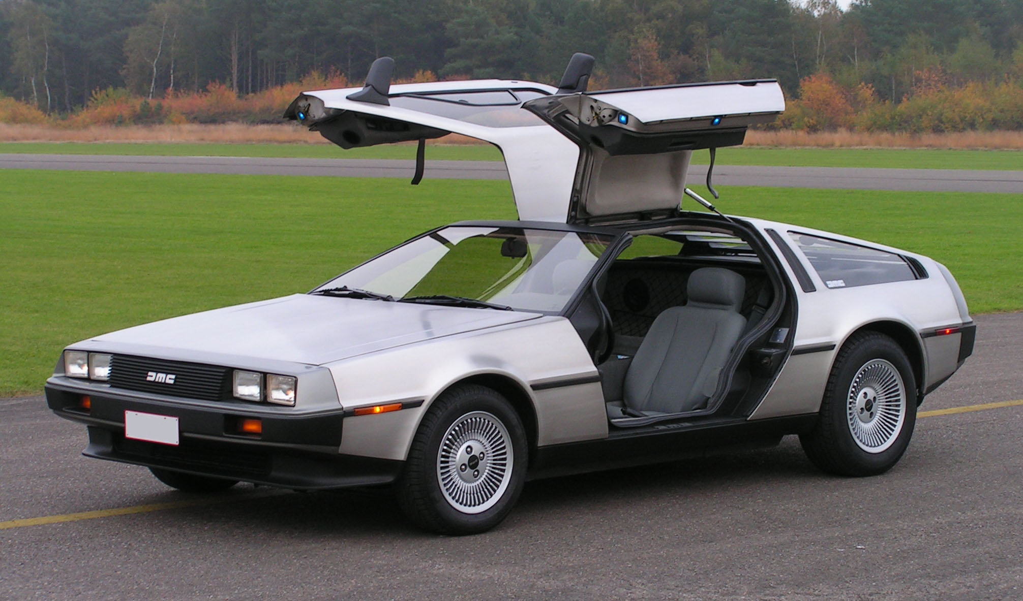 Back To The Future Dmc Delorean Motor Company