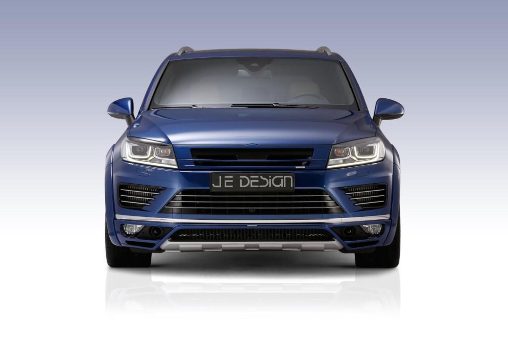 JE Design 2015 Volkswagen Touareg V8 Front Lights