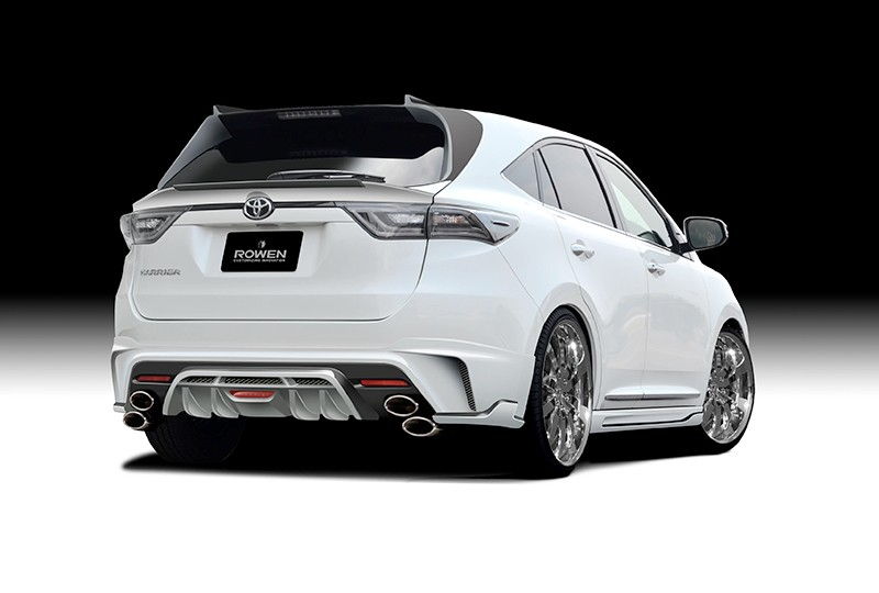 2015 Toyota Harrier Tuned By Rowen Rear