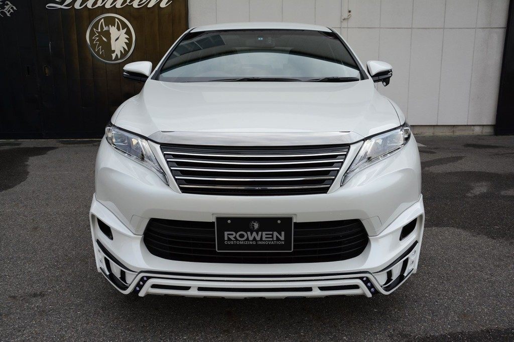 2015 Toyota Harrier Tuned By Rowen front