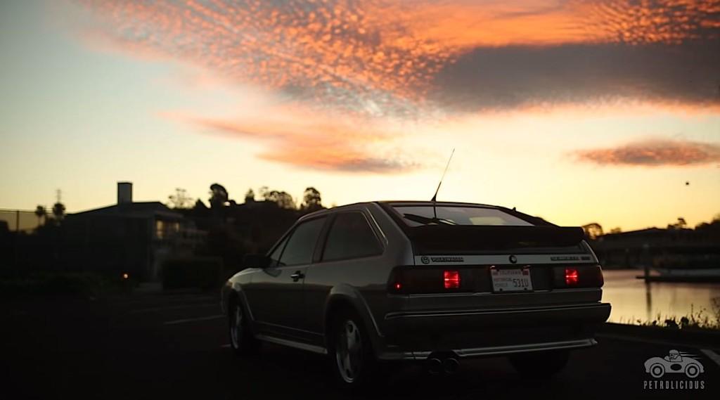 Jason Cammisa Volkswagen Scirocco Rear Dawn