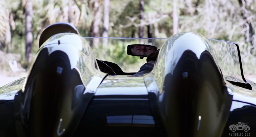 Mercedes 300 SLR check back mirror