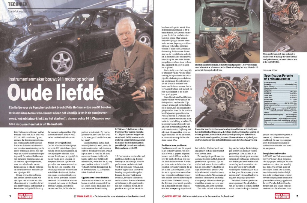 Porsche Miniature Engine Article 1