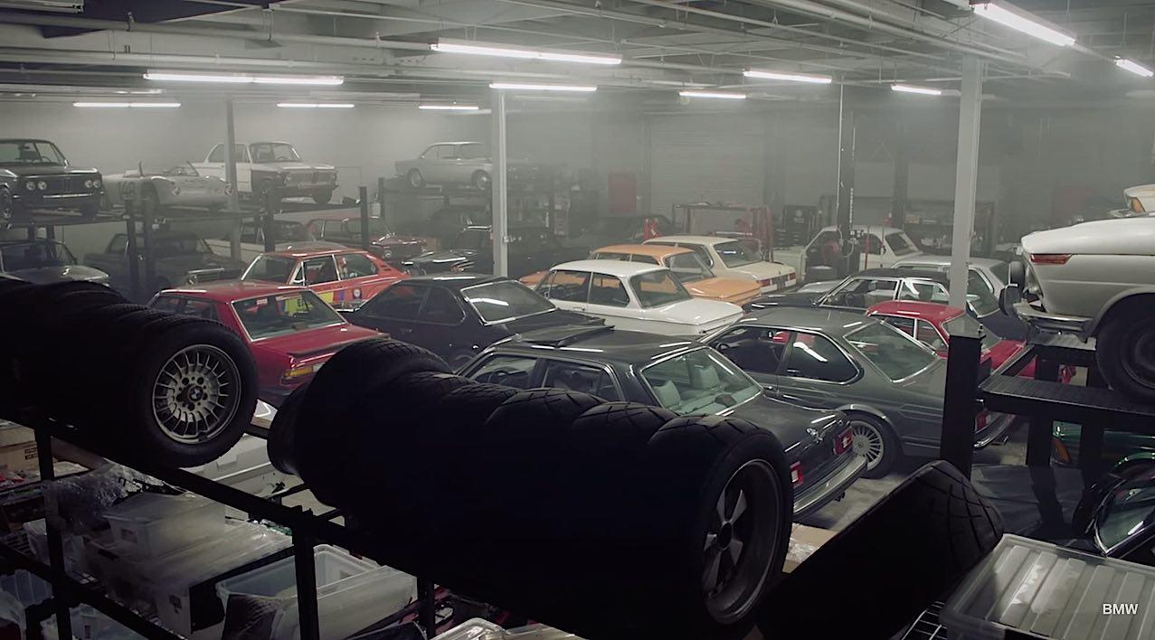 Secret bmw collector for Garage bmw ivry