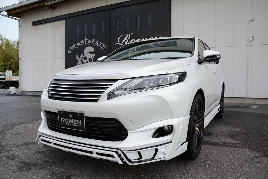 tuned-toyota-harrier-by-rowen front