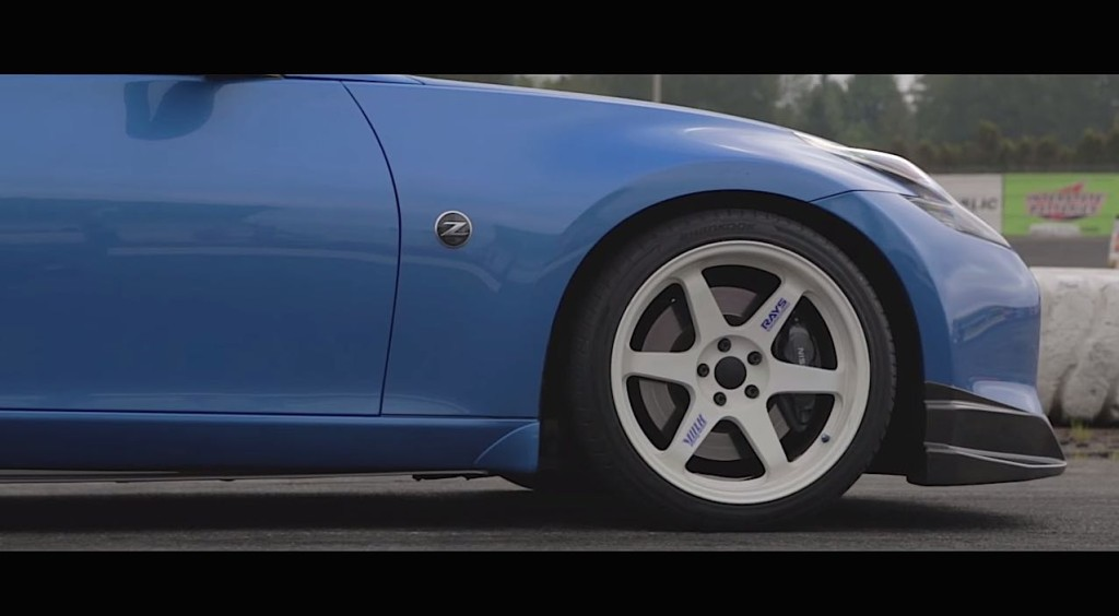 Agoot 370z turbocharged front wheel