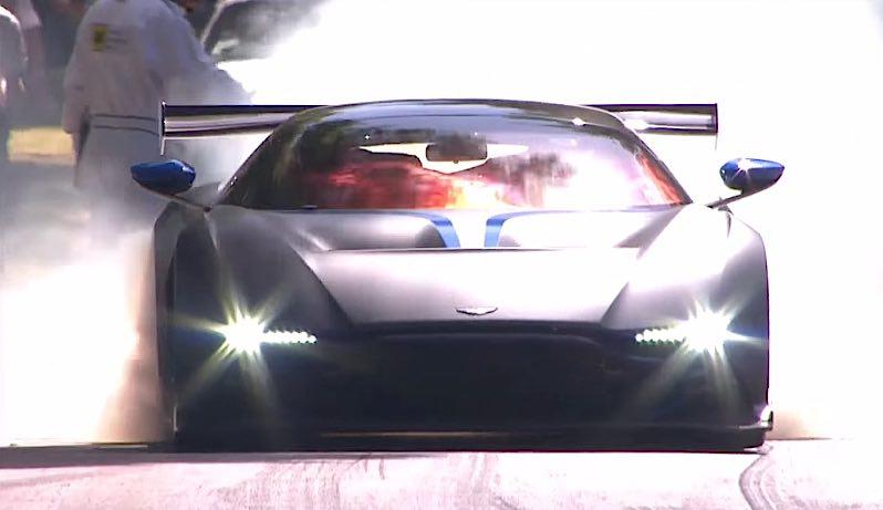 Aston Martin Vulcan Burnout - 1