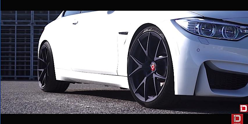 BMW F82 M4 on M52R Klassen iD Wheels 4