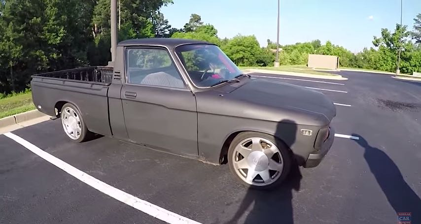 Driving the 1979 Chevy LUV 2