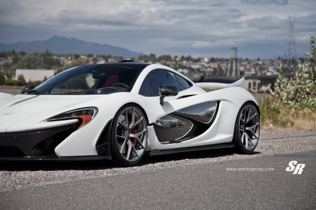 McLaren P1 on PUR Wheels 6