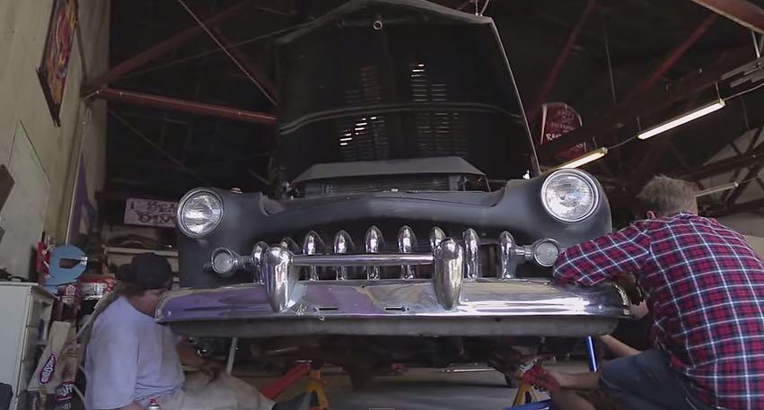 Rat Rod 1950 Mercury Rescue 1