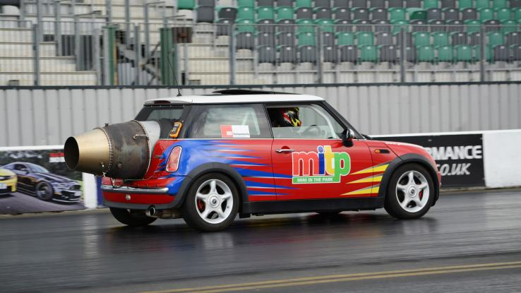 Rolls Royce Jet Engine Mini Cooper