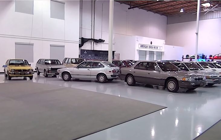 Inside American Honda Secret Museum - 2