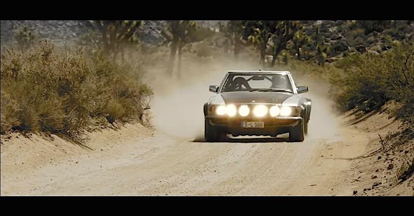 Mercedes 500 SL Rally 1