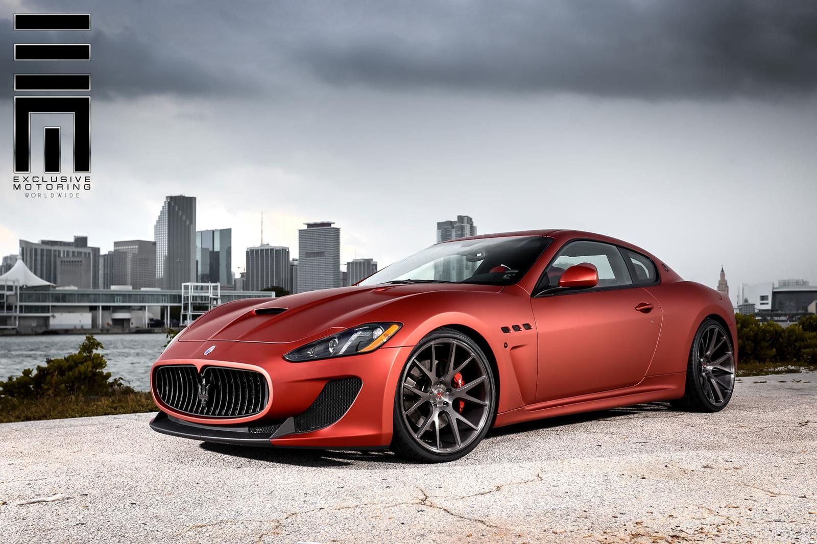 maserati granturismo mc sportline by vossen damnedwerk. Black Bedroom Furniture Sets. Home Design Ideas
