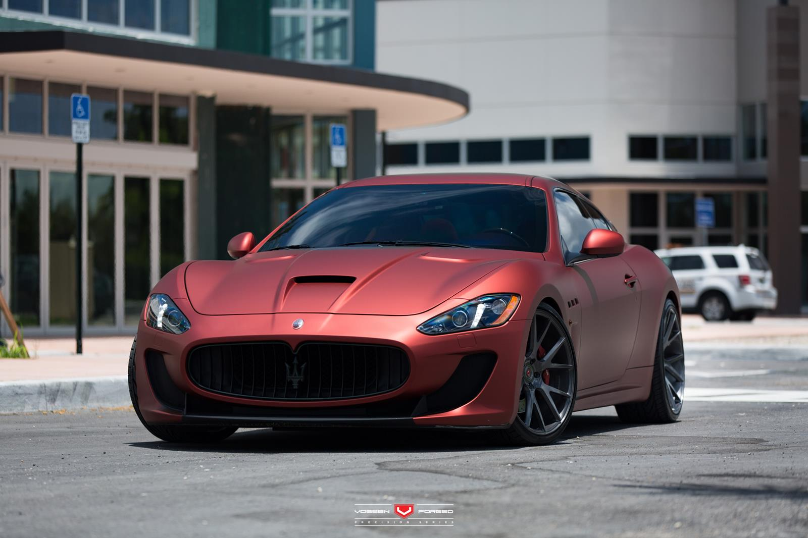 maserati granturismo mc sportline by vossen. Black Bedroom Furniture Sets. Home Design Ideas