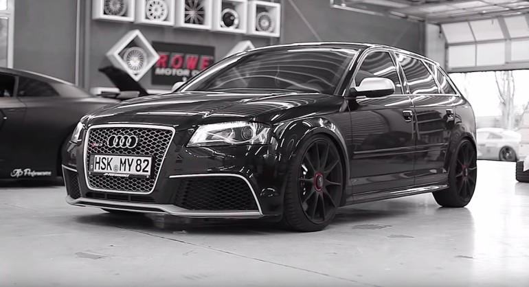 Audi Rs3 By Jp Performance Damnedwerk