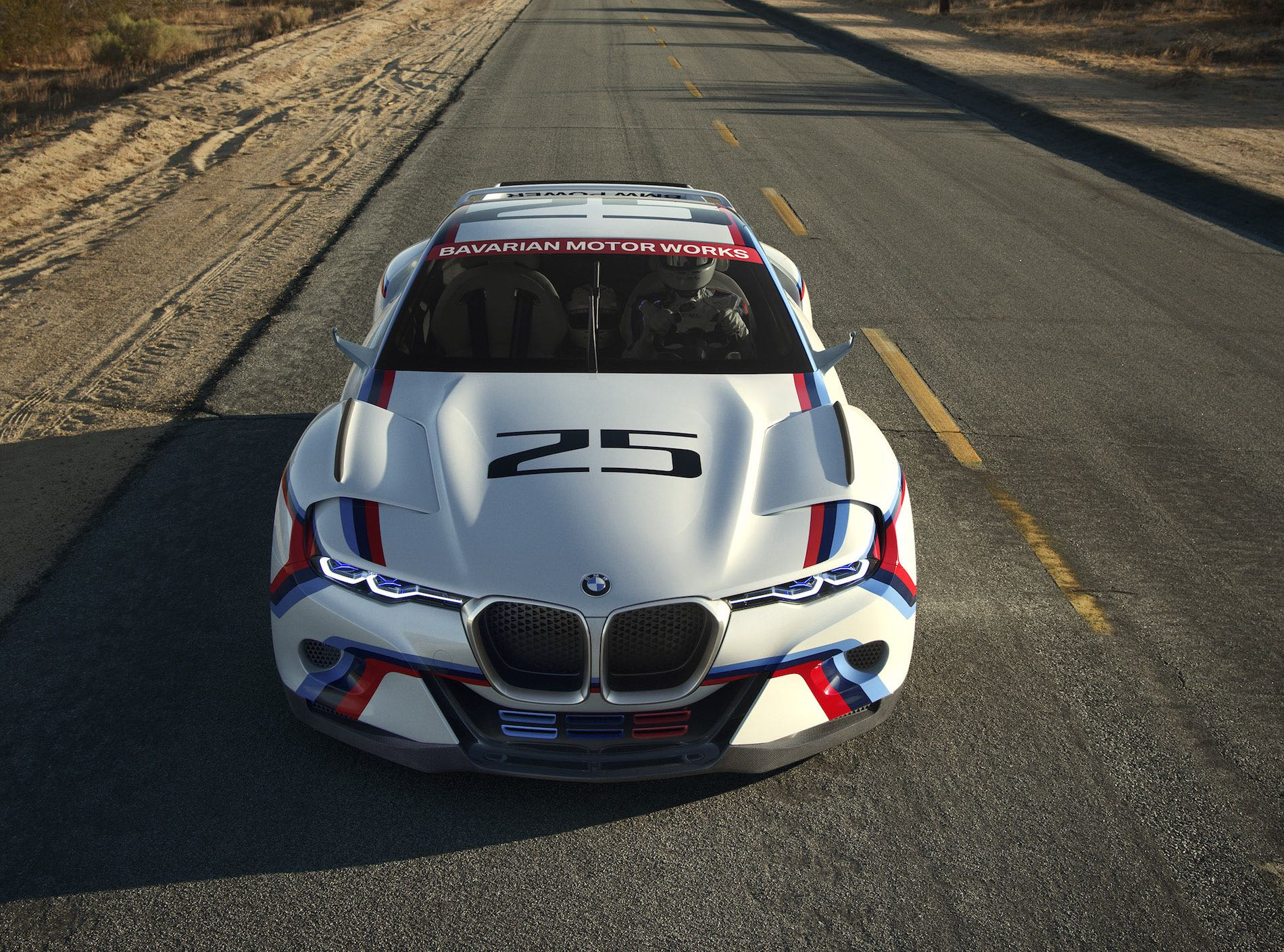 stunning bmw 3 0 csl hommage r concept with video. Black Bedroom Furniture Sets. Home Design Ideas