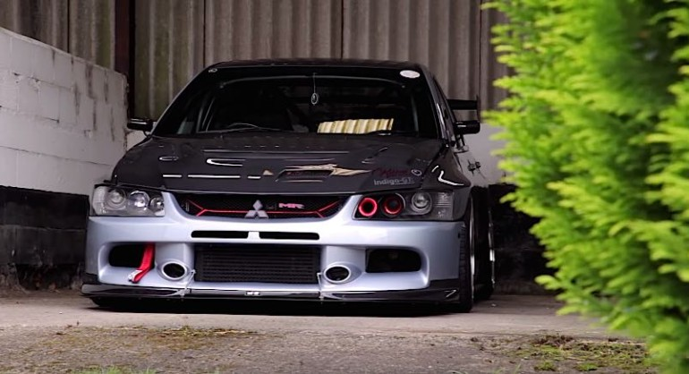 Video: A 700 Horsepower Evo That Help to Save Life