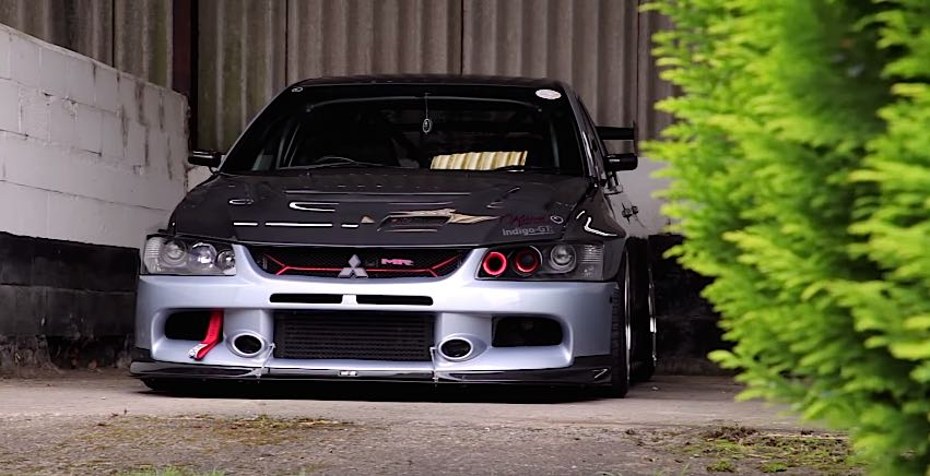 Video A 700 Horsepower Evo That Help To Save Life