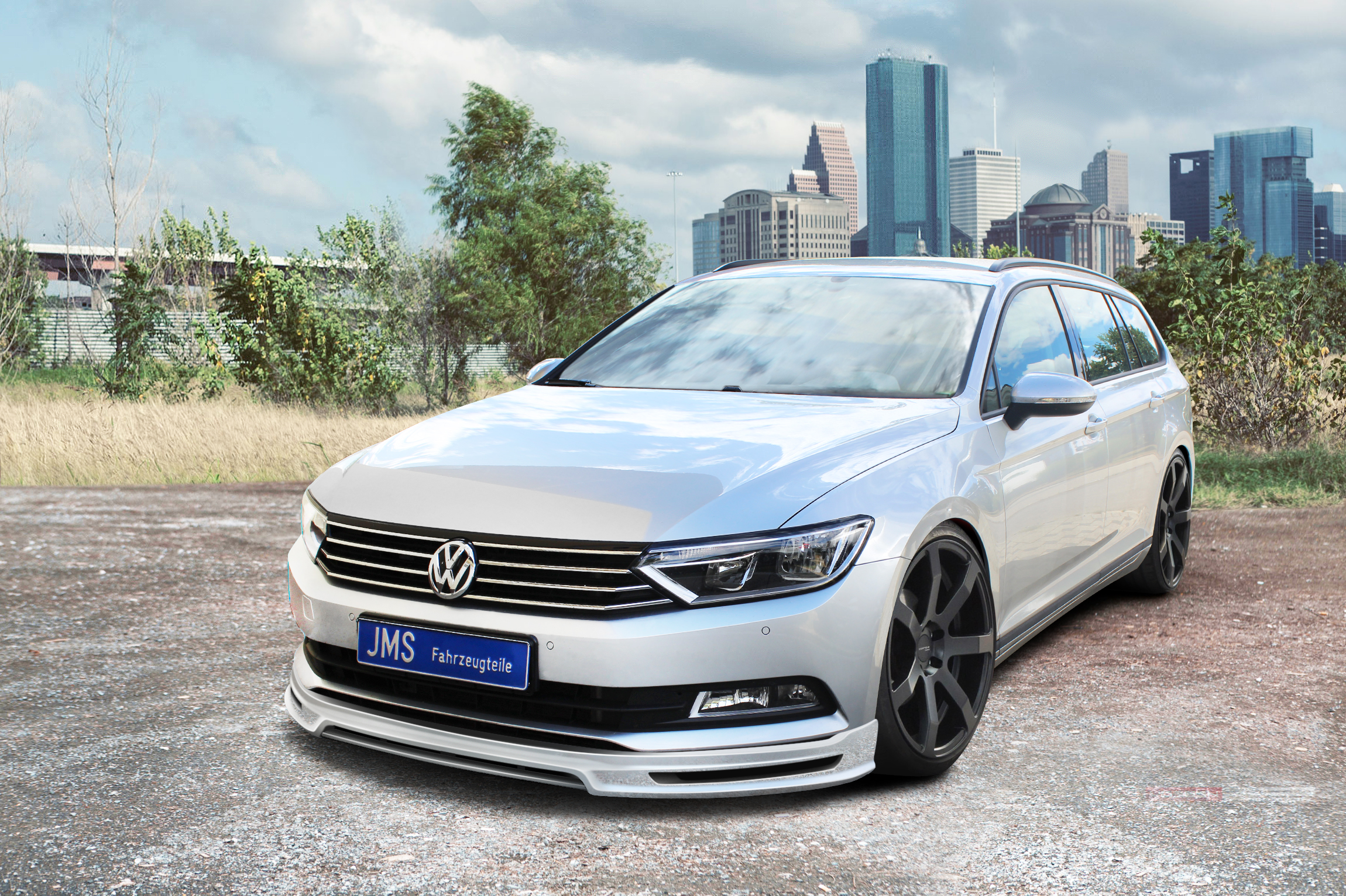 2015 volkswagen passat b8 tuned by jms fahrzeugteile damnedwerk. Black Bedroom Furniture Sets. Home Design Ideas
