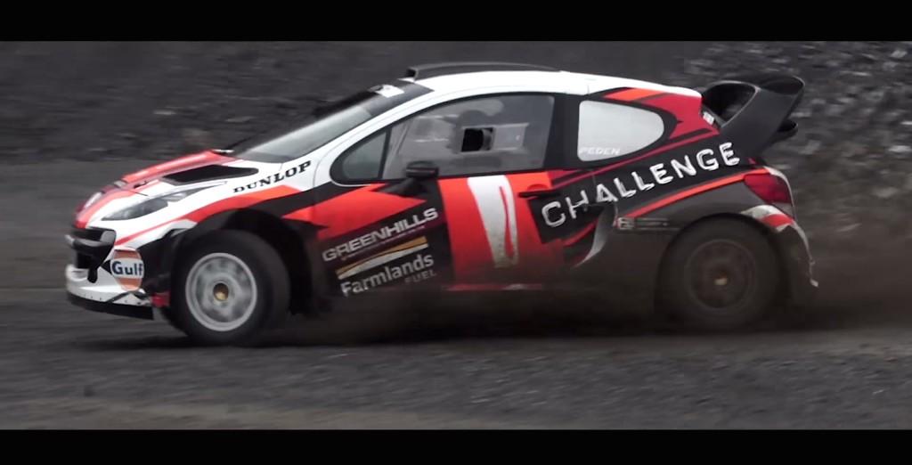Alex Kelsey Peugeot WRC - 3