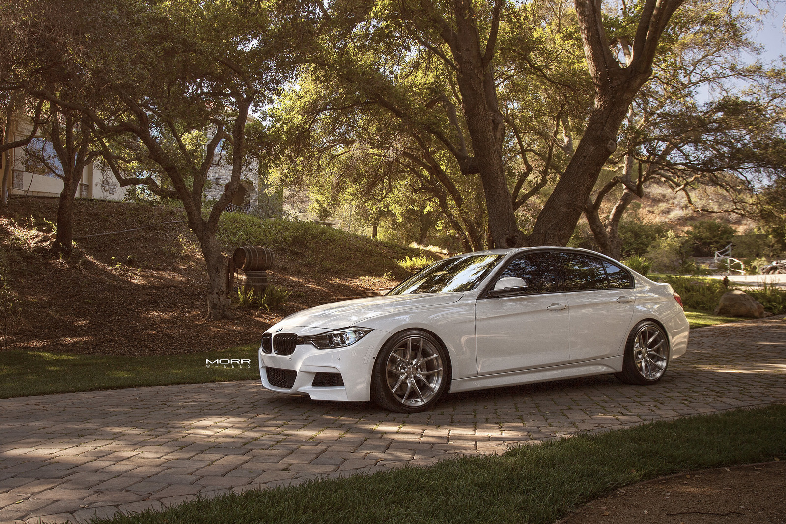 bmw 3 series f30 on morr wheels. Black Bedroom Furniture Sets. Home Design Ideas