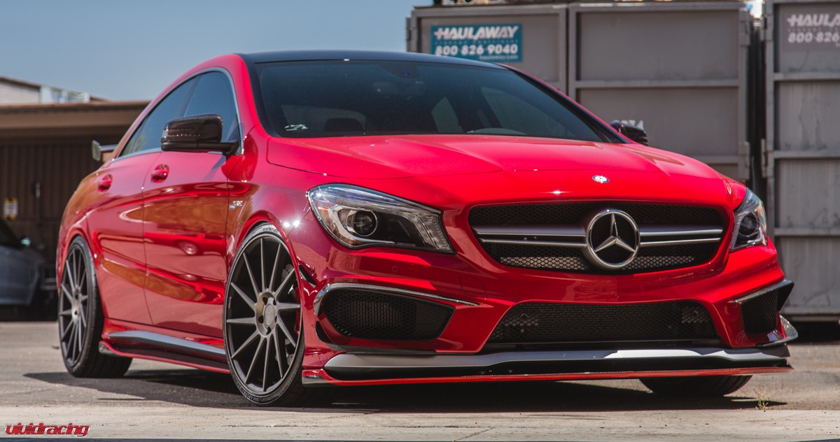 Mercedes Cla45 Amg Tuned By Vivid Racing Damnedwerk