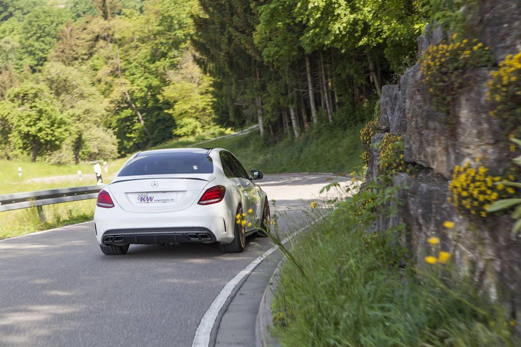 Mercedes C63 S AMG KW Suspension - 10