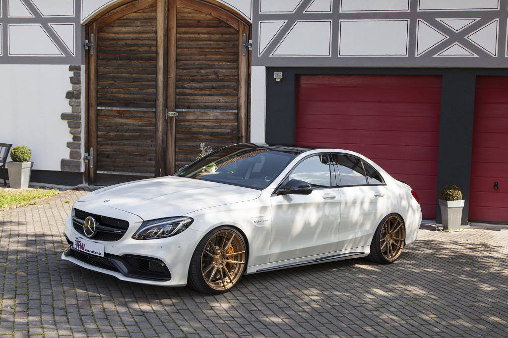 Mercedes C63 S AMG KW Suspension - 7