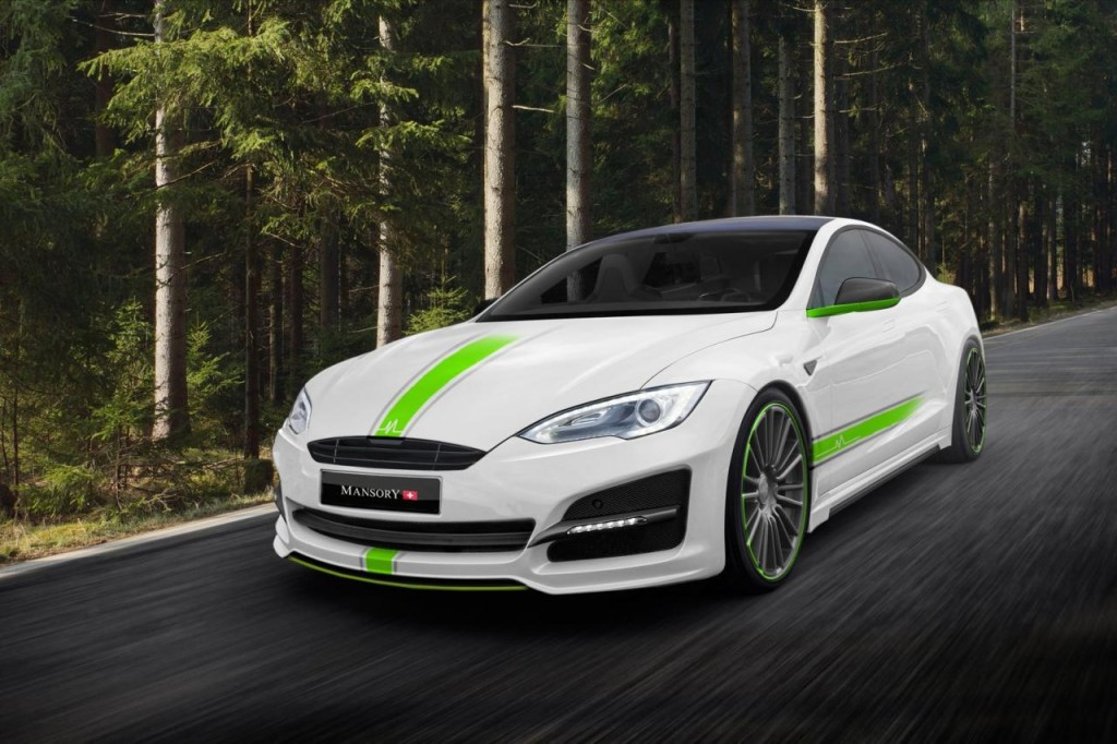 Tesla Model S by Mansory - 1