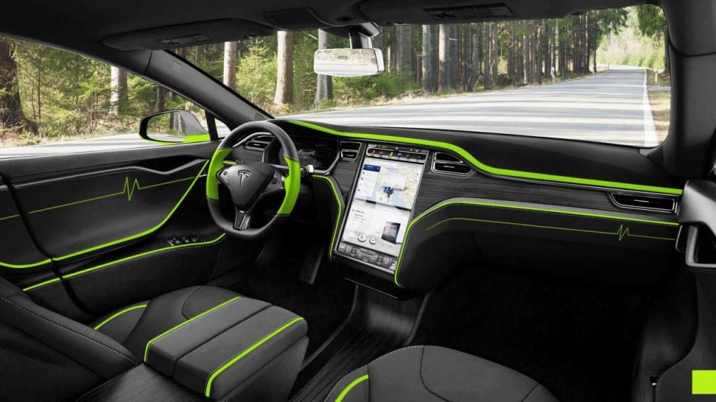 Tesla Model S by Mansory - 3