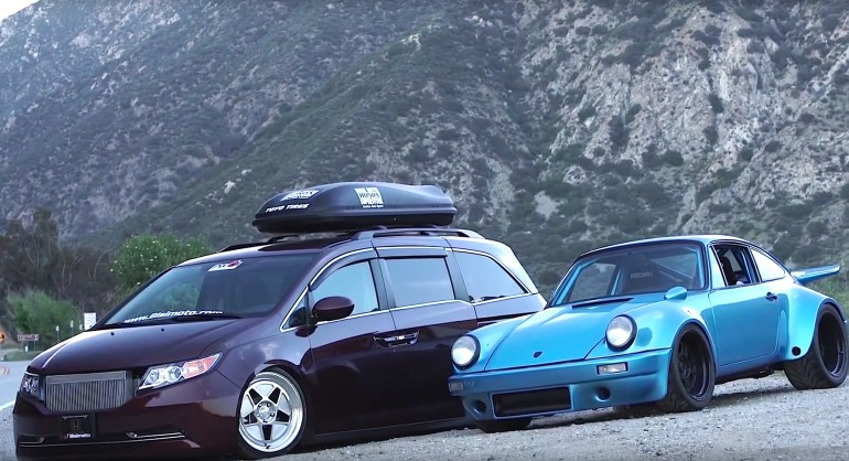 Honda odyssey and porsche 911 with 1 000 hp by bisimoto for 1000hp honda odyssey