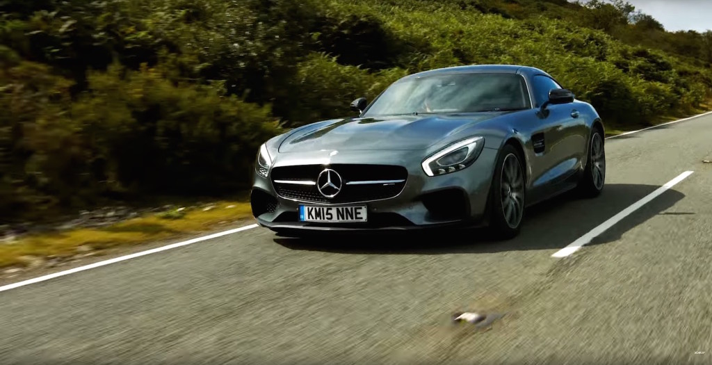 Mercedes AMG GT S Heavenly Engine Sound - 8