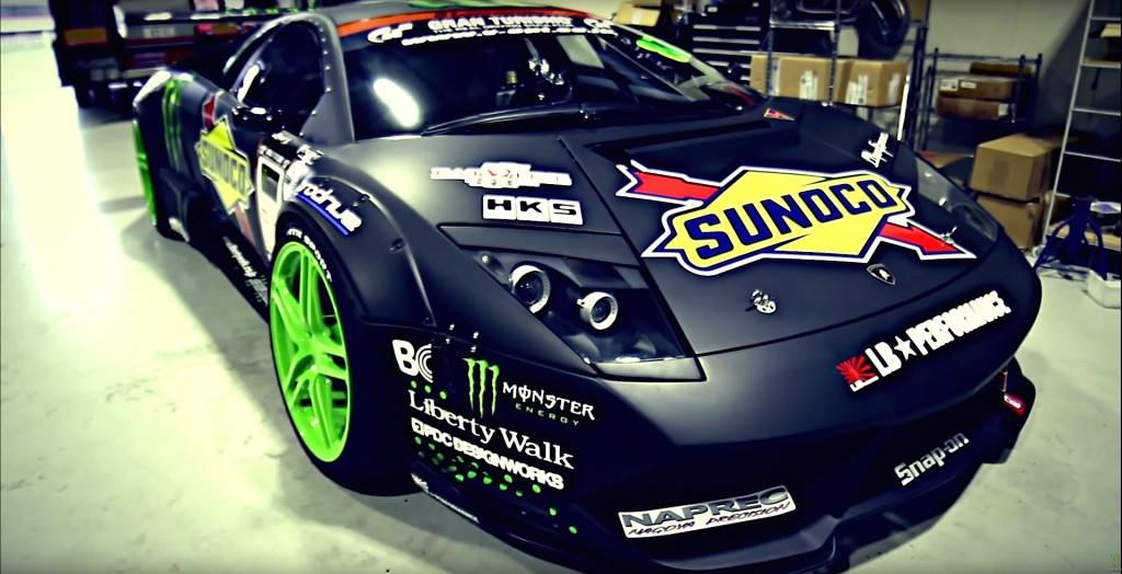 Monster Energy Lamborghini Drift Car - 1