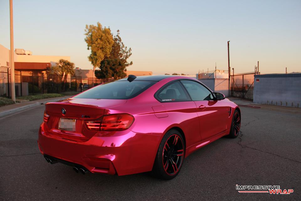 Pink-Chrome-BMW-M4-6