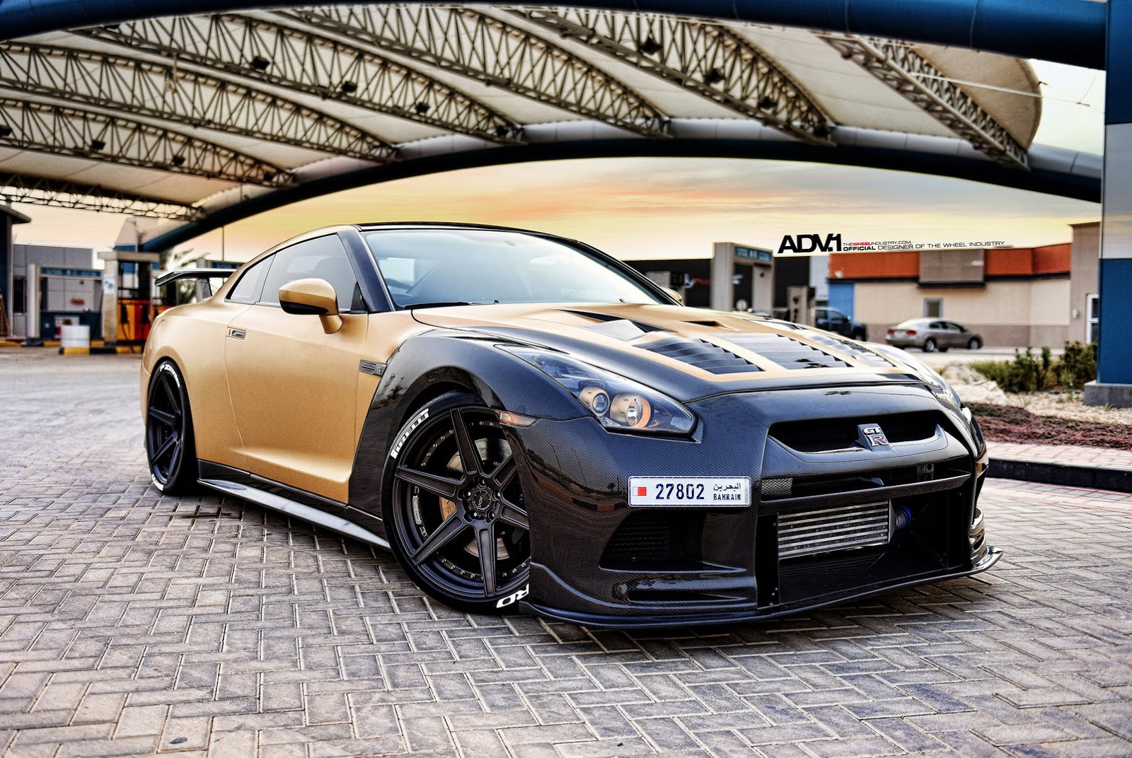 gold carbon nissan gtr r35 by ams performance. Black Bedroom Furniture Sets. Home Design Ideas