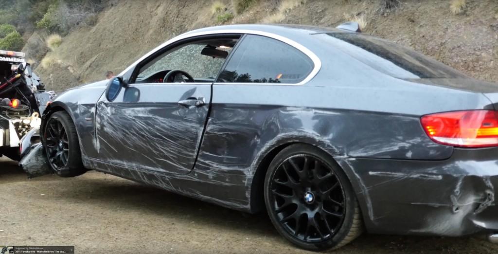 BMW E92 Crash Hillside - 9