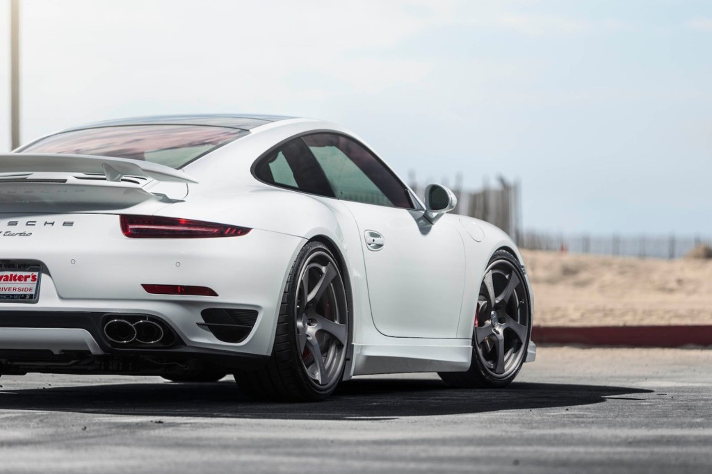 HRE RS102 Wheels on Porsche 991 Turbo - 3