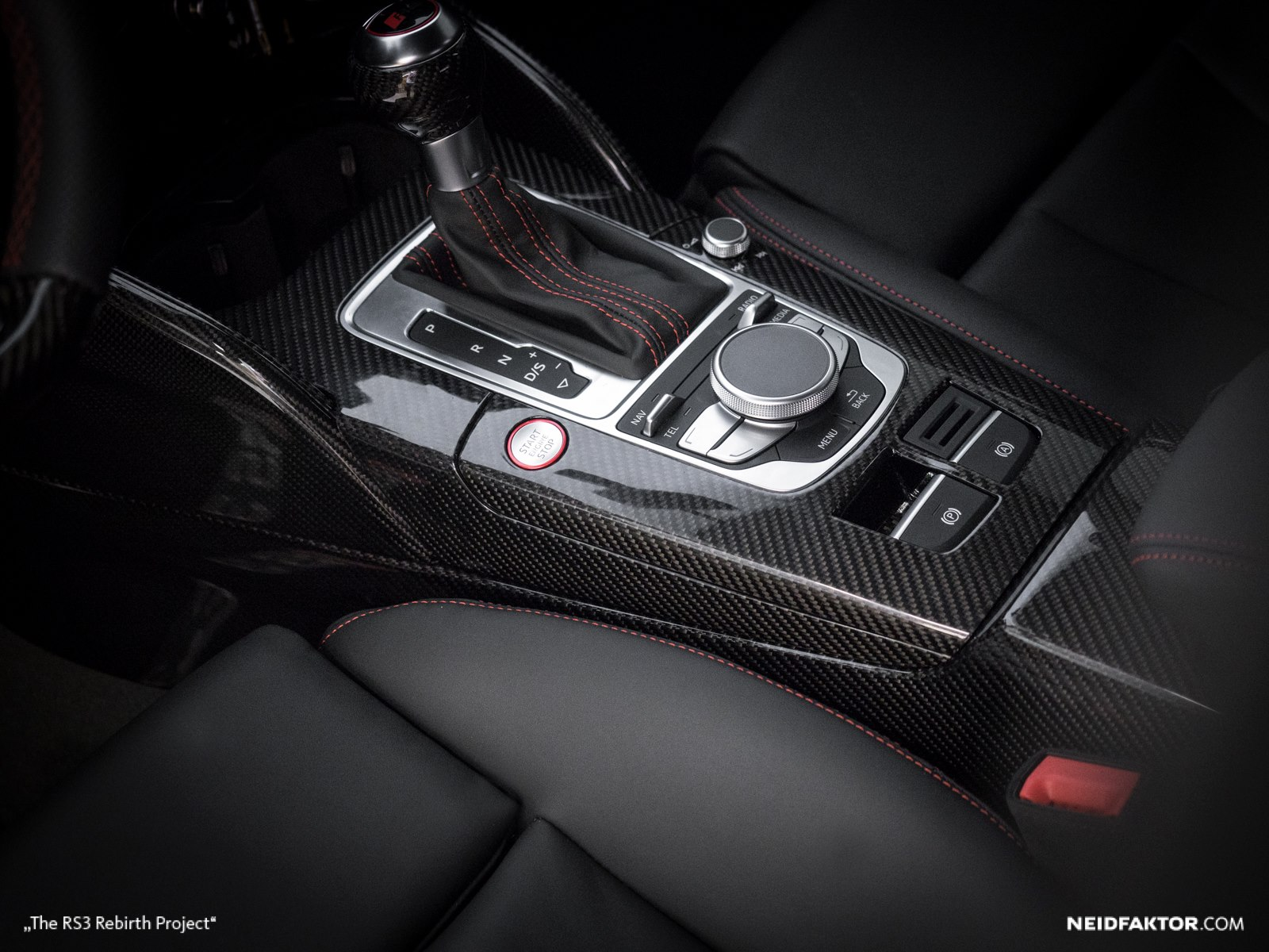 Custom Interior For Audi Rs3 From Neidfaktor Damnedwerk
